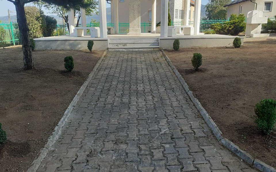 Novo hortikulturno uređenje Spomen obilježja na Soukbunaru