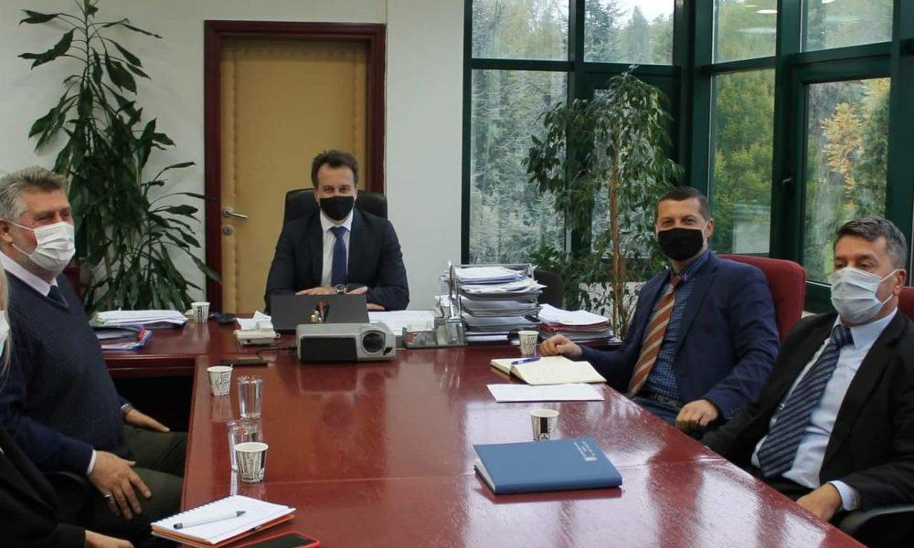 Ministar Hadžiahmetović posjetio preduzeće Park